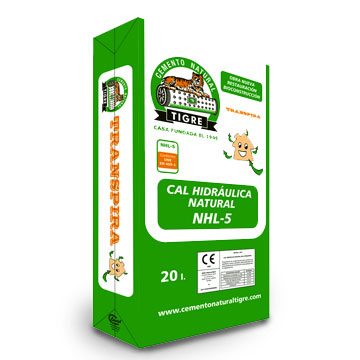 Tigre Natural Hydraulic Lime (NHL) 5.0 for sale under Preservation Works Products