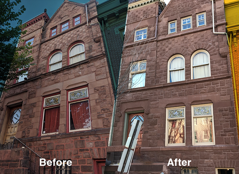 Historic Residential Brownstone Building